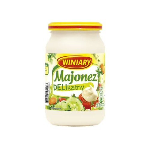 Winiary mayonnaise delicate 250ml