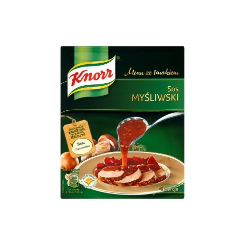 Knorr sauce hunting