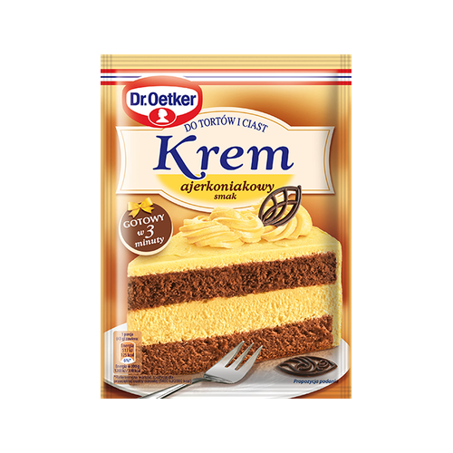 Dr. Oetker Cream cakes flavored ajerkoniakowym 120g
