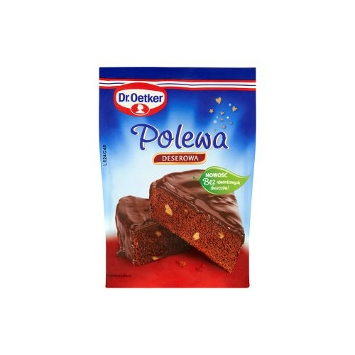 Dr. Oetker Topping the dark / dessert 100g