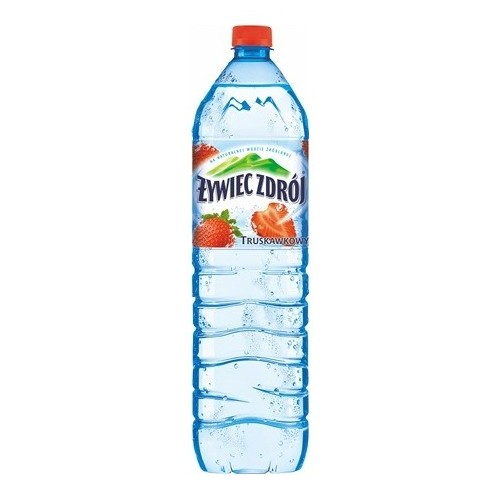 Strawberry flavored mineral water Still 1.5L
