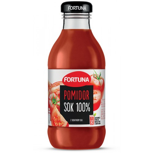 Fortuna Pomidor sok 100%,300ml