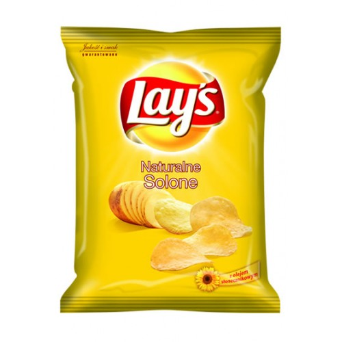 Lays Naturalne solone 140g