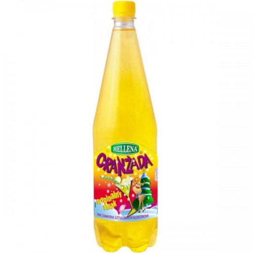 Helena yellow sparkling water flavored 1.25L